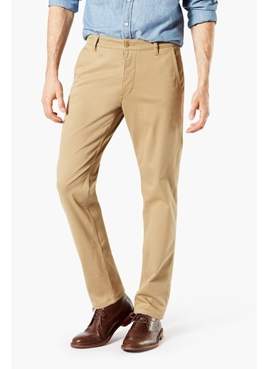 Dockers Dockers Smart Supreme Flex Tapered Klasik Pantolon Haki